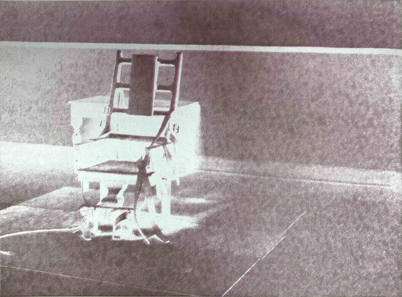 Andy Warhol, 'Electric Chairs II.78', 1971, Print, Screenprint on paper, Hamilton-Selway Fine Art