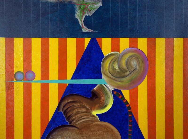 Eugene James Martin, 'Flemish Glory', 1995, Painting, Acrylic on canvas, Eugene Martin Estate