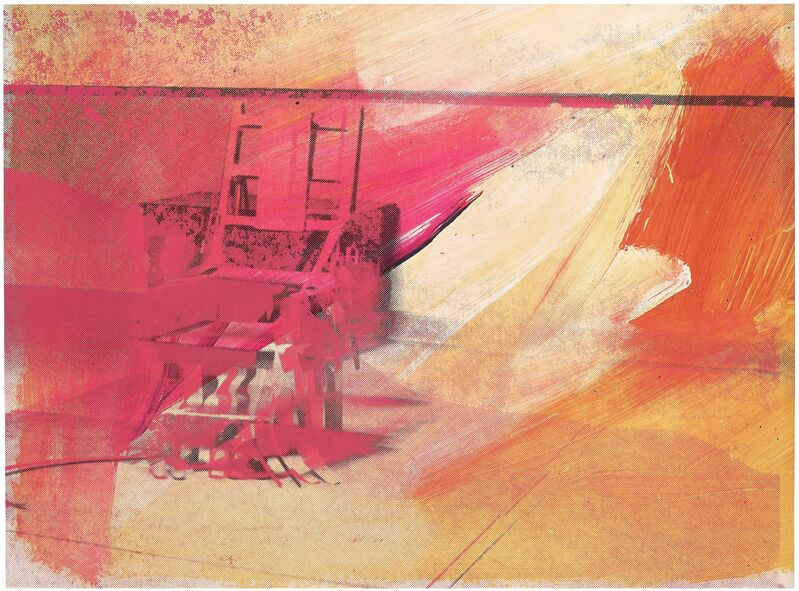 Andy Warhol, 'Electric Chair', 1971, Print, Screenprint in colors on wove paper, Gallery Red