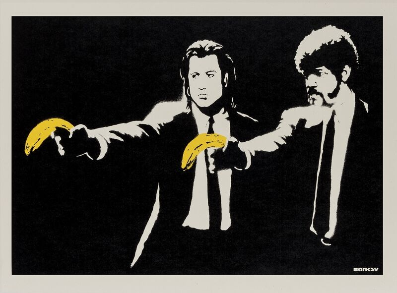 Banksy, 'Pulp Fiction', 2004, Print, Screenprint in colours, Forum Auctions