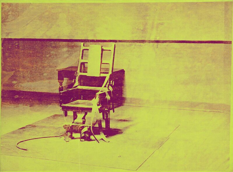 Andy Warhol, 'Electric Chair', 1967, Painting, Synthetic polymer paint screenprinted onto canvas, National Gallery of Victoria