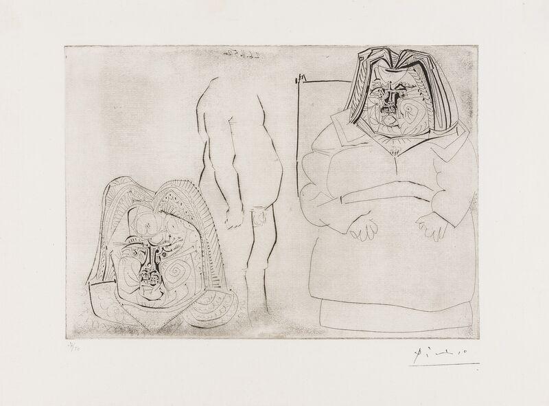 Pablo Picasso, 'Balzac (Bloch 713)', 1952-61, Print, Etching, Forum Auctions