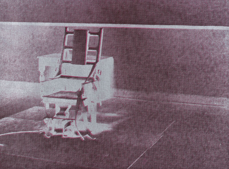 Andy Warhol, 'Electric Chair', 1971, Print, Screenprint in colours, on wove paper, the full sheet., Phillips