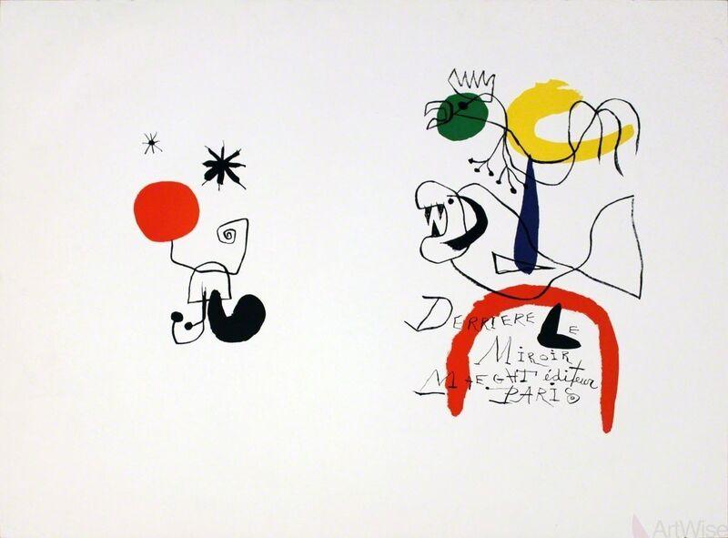 Joan Miró, 'Sans Titre (Untitled)', (Date unknown), Print, Stone Lithograph, ArtWise