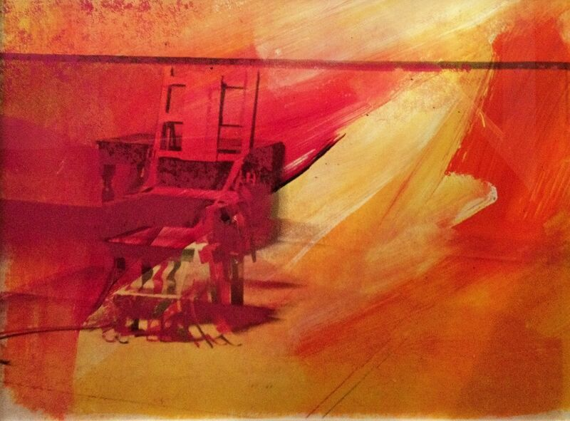 Andy Warhol, 'Electric Chair (FS II.81) ', 1971, Print, Screenprint on Paper, Revolver Gallery