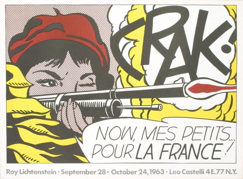 Roy Lichtenstein, 'Crak!', 1963, Print, Offset Lithograph, ArtWise