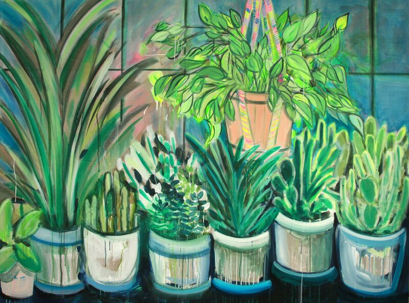 Erin Rachel Hudak, 'My windows', 2019, Painting, Acrylic on linen, Ochi Projects