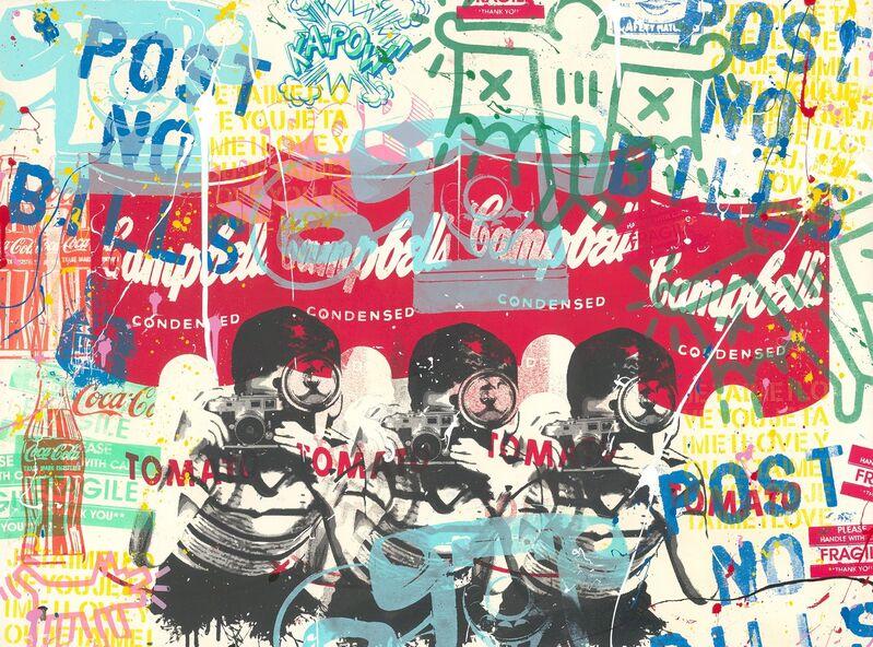 Mr. Brainwash, 'Pop Scene', 2020, Print, Silkscreen and acrylic on paper, Taglialatella Galleries