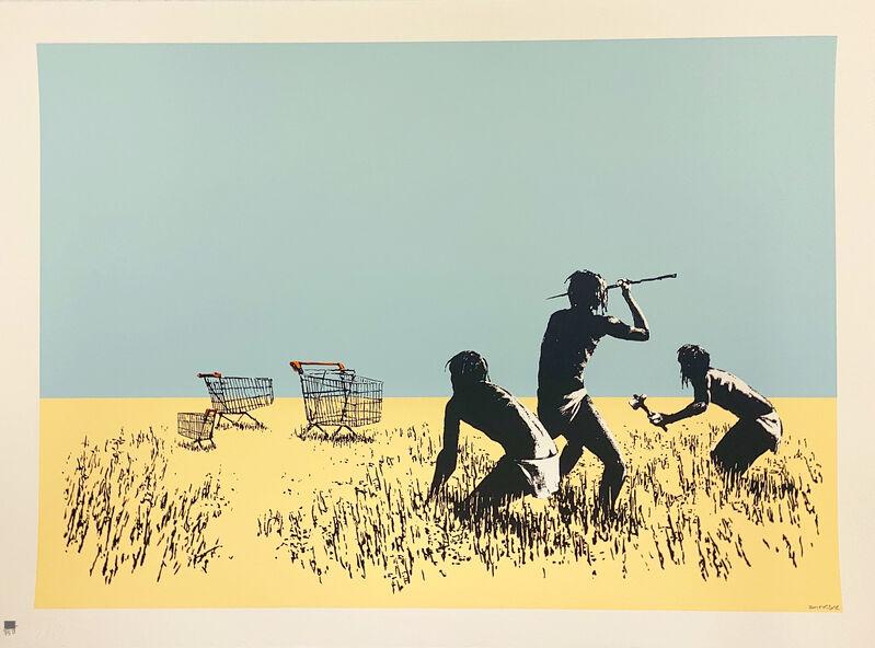 Banksy, 'Trolleys (Colour)', 2007, Print, Screenprint in colours on wove paper., HOFA Gallery (House of Fine Art)