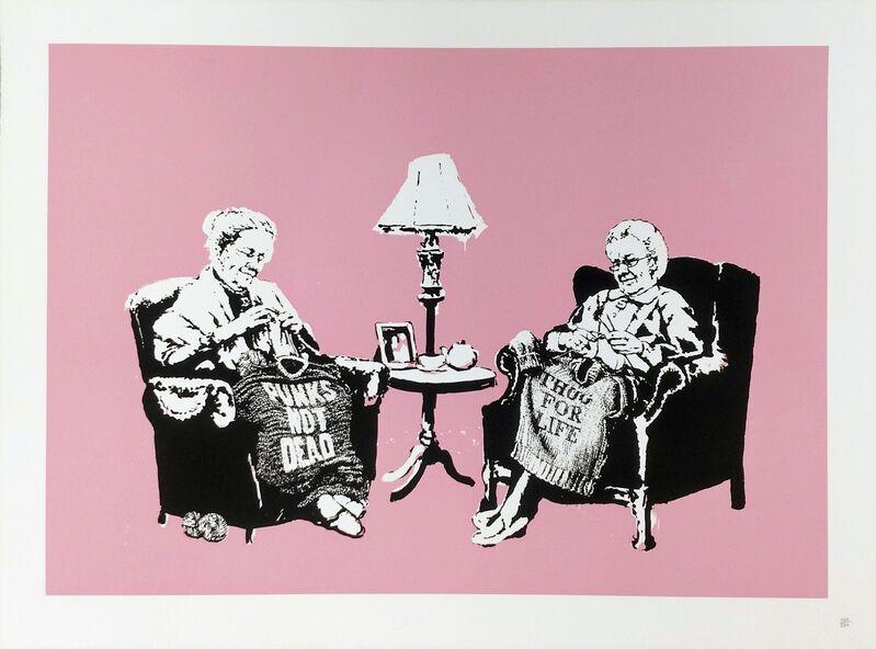 Banksy, 'GRANNIES', 2006, Print, SCREEN PRINT ON PAPER, Gallery Art