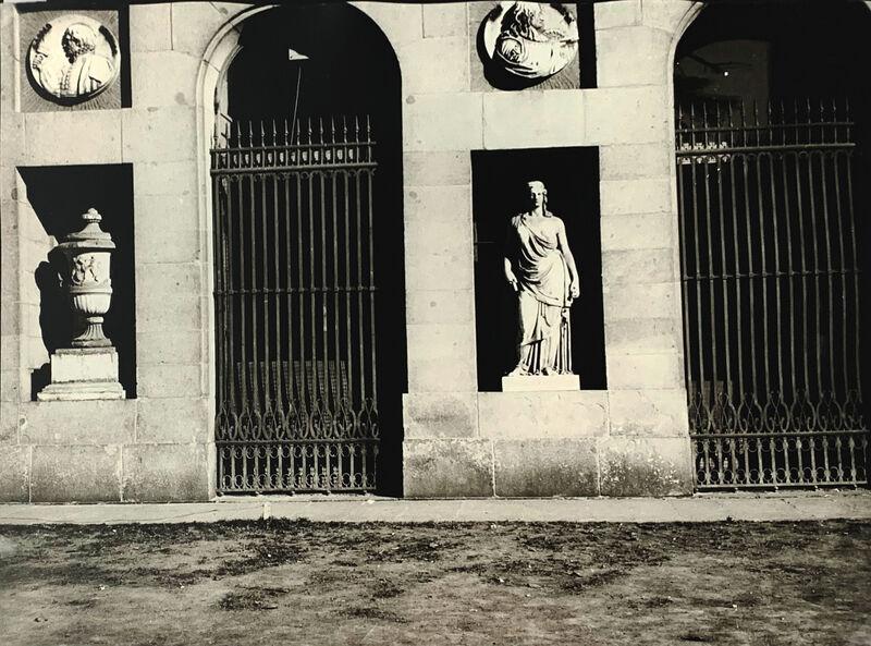 Andy Warhol, 'Exterior Museo del Prado', 1983, Photography, Silver gelatin print on paper, OBA/ART