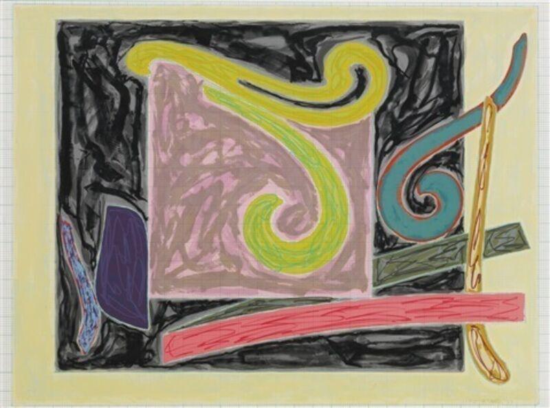 Frank Stella, 'Steller's Albatross', 1977, Mixed Media, Lithograph & screenprint on Arches mould-made graph paper, Vertu Fine Art
