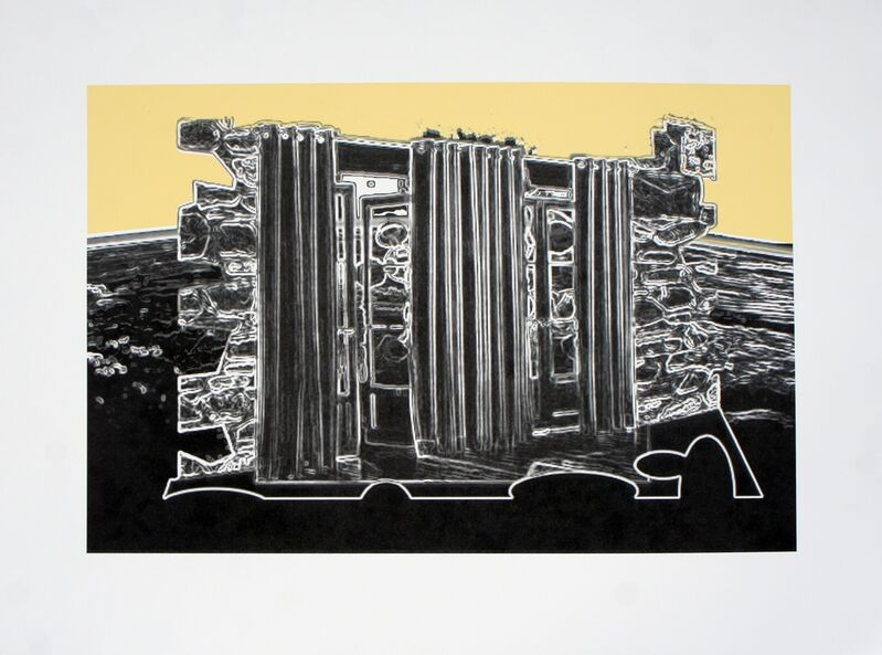 William Leavitt, 'Arctic Earth', 2014, Print, Lithograph print, Liverpool Biennial