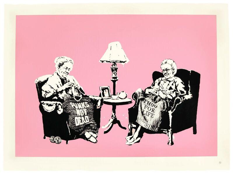 Banksy, 'Grannies', 2006, Print, Screenprint, Tram Collective