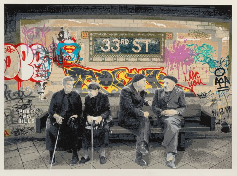 Mr. Brainwash, '33rd Street', 2009, Print, Screenprint in colors on wove paper, Heritage Auctions