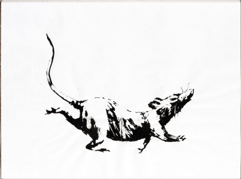 Banksy, 'Rat', 2019, Print, Screenprint on 50gsm paper, published by Pictures on Walls, London, on wove paper., Area Consulting