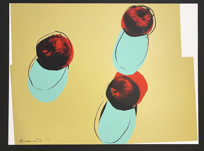 Andy Warhol, 'Apples', 1979, Print, Screenprint on Lenox Museum Board, Georgetown Frame Shoppe