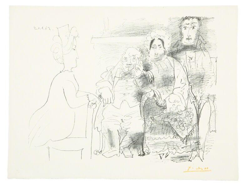 Pablo Picasso, 'Portrait de Famille (Bloch 1030)', 1962, Print, Lithograph on Arches paper, Forum Auctions