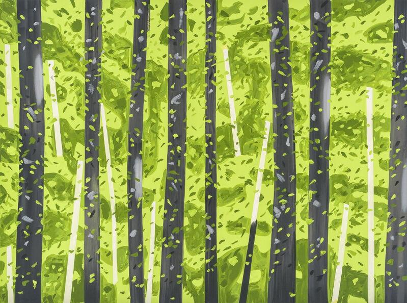 Alex Katz, '10:30 AM', 2017, Print, Screenprint in colors, on Saunders Waterford paper, Upsilon Gallery
