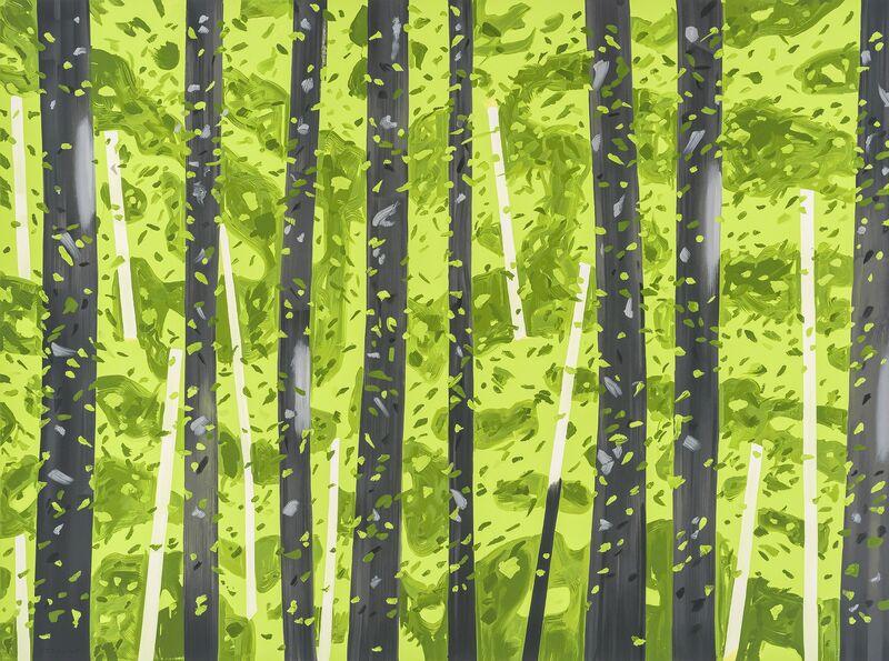 Alex Katz, '10:30AM', 2017, Print, 24-color silkscreen on Saunders Waterford paper, Meyerovich Gallery