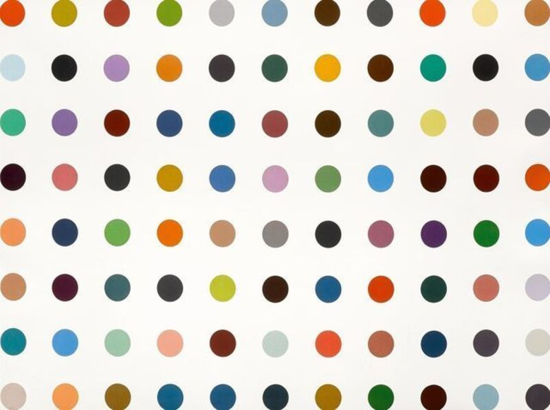 Damien Hirst, 'Postcard from... Damien Hirst: Nucleohistone', 2012, Print, Offset lithograph in colours on velin paper, Lougher Contemporary