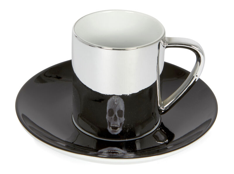 Damien Hirst, 'For The Love Of God', 2007, Design/Decorative Art, Anamorphic porcelain cup and saucer, Roseberys