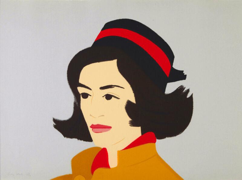 Alex Katz, 'Ada in Hat (from Alex & Ada portfolio) ', 1990, Print, 38-colour silkscreen, Nikola Rukaj Gallery