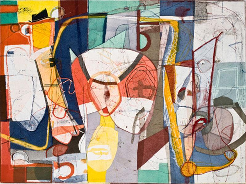 David Kelso, 'Blossom', 2009, Print, Etching & aquatint, Dolan/Maxwell