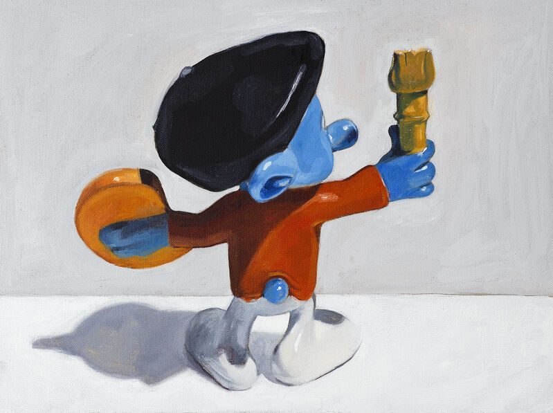 Oliver Clegg, 'el artista', 2018, Painting, Oil on linen, Free Arts NYC Benefit Auction