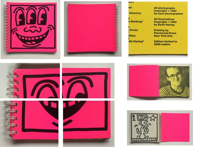 "Keith Haring, '""Keith Haring"", 1982, RARE FIRST EDITION of 2000, Tony Shafrazi Exhibition Catalogue', 1982, Ephemera or Merchandise, Lithograph on paper, VINCE fine arts/ephemera"