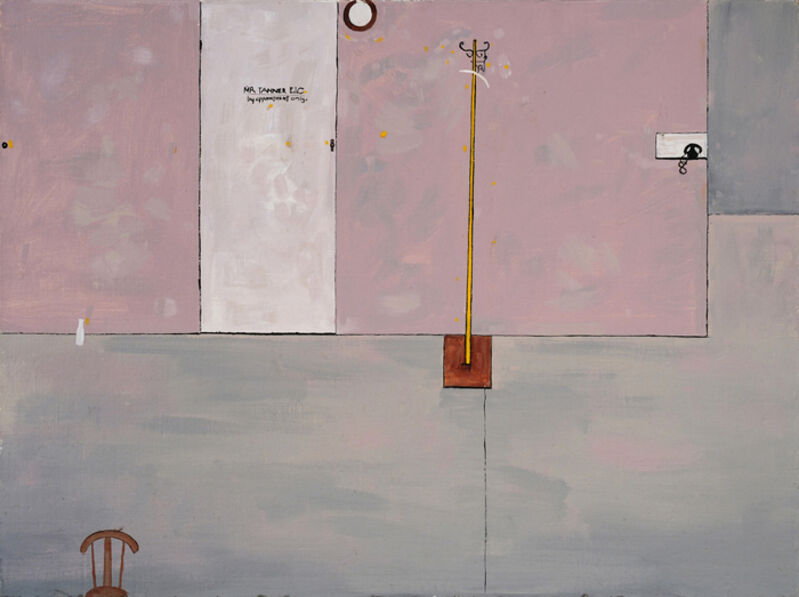 Edwin Tanner, 'Study for 'The Public Servant'', 1953, Painting, Oil on board, Charles Nodrum Gallery