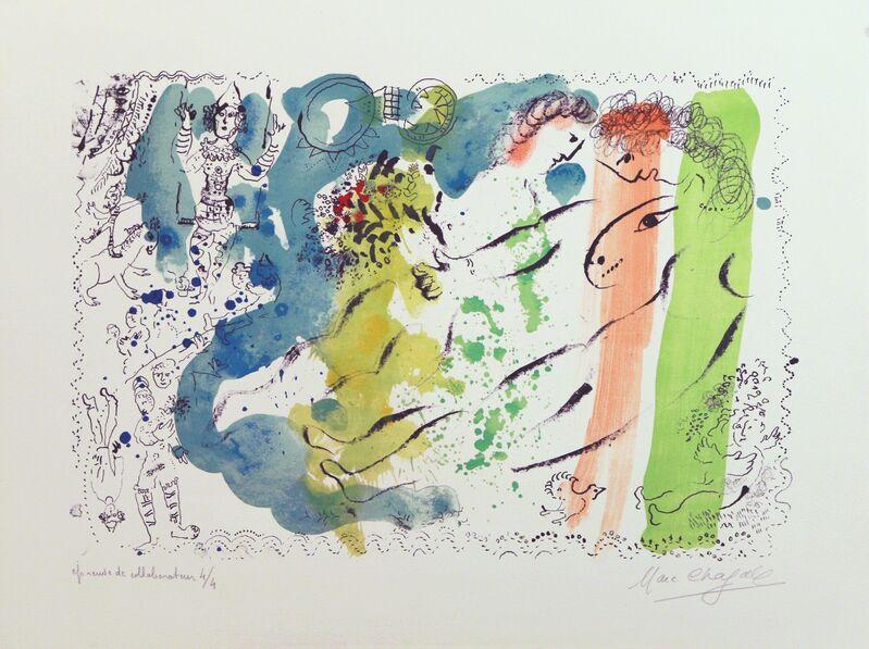 Marc Chagall, 'Lumiere du Cirque', 1969, Print, Lithography, Art Works Paris Seoul Gallery