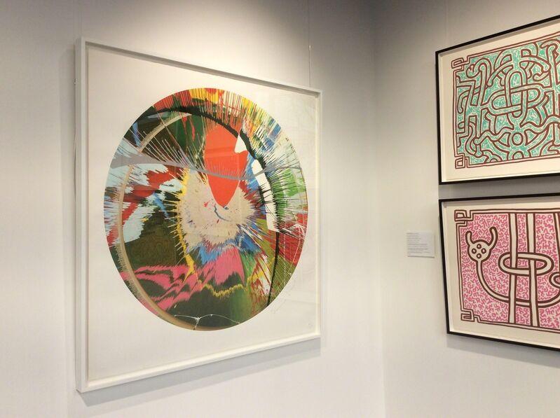 Damien Hirst, 'Beautiful, Galactic, Exploding Spin', 2001, Print, 24 colour screen print, Joseph Fine Art LONDON