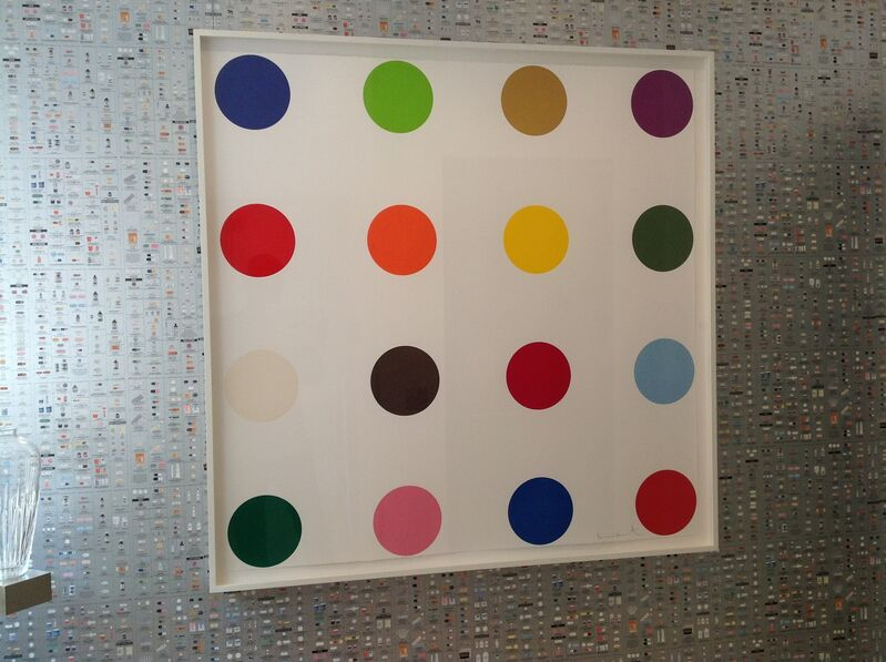 Damien Hirst, 'Cocarboxylase', 2010, Print, Ink, paper, pencil, Artificial Gallery