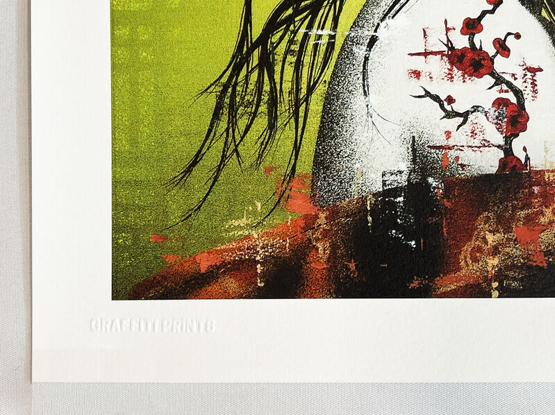 Fin Dac, ''Okurimono'', 2021, Print, Screen print in colors on 300gsm Somerset fine art paper., Signari Gallery