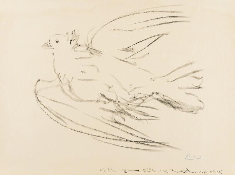 Pablo Picasso, 'La Colombe Volant (Bloch 677; Mourlot 191)', 1950, Print, Lithograph, Forum Auctions