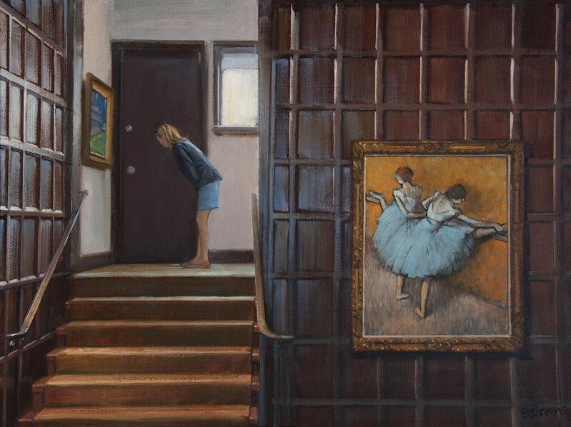 Bradley Stevens, 'In-Between', 2021, Painting, Oil on panel, Zenith Gallery