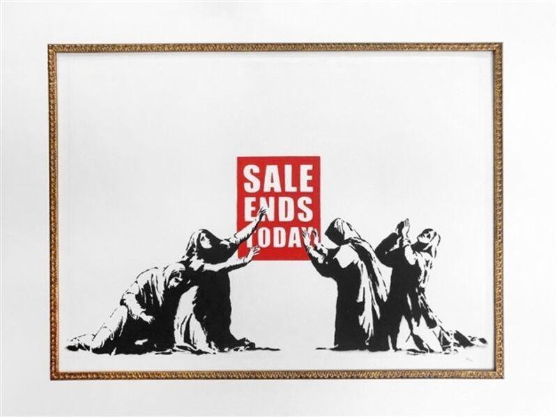 Banksy, 'Sale Ends Today (LA Edition)', 2006, Print, Screenprint on paper, ArtLife Gallery