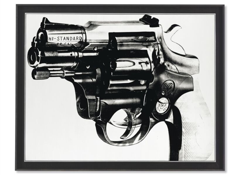Andy Warhol, 'Gun', Acrylic and silkscreen ink on canvas, Christie's