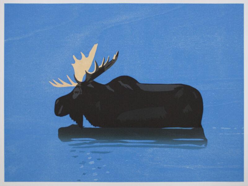 Alex Katz, 'Moose', 2013, Print, Woodcut, Marlborough New York