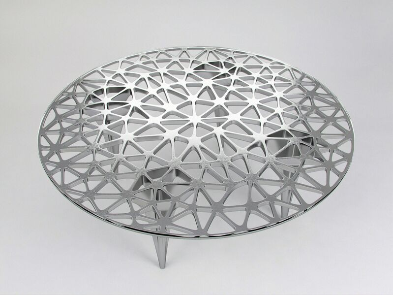 Janne Kyttanen, 'Sedona Lounge Table (Polished Stainless Steel)', 2014, Design/Decorative Art, Stainless Steel, Gallery ALL
