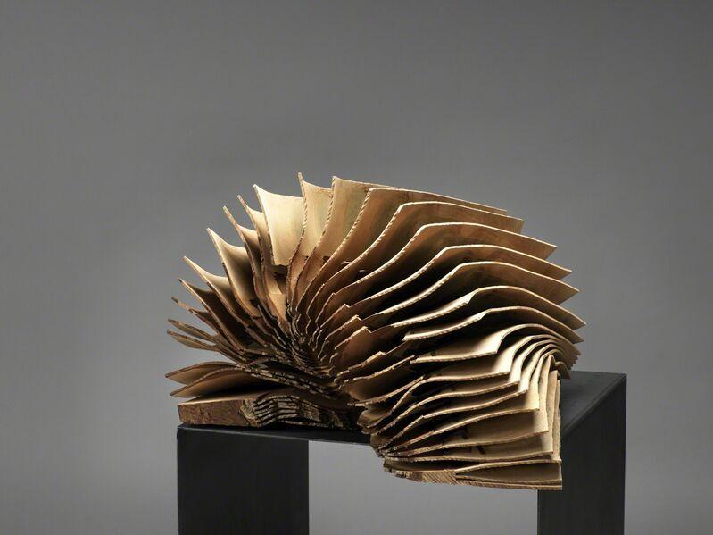 Herbert Golser, 'booked up (ausgebucht)', 2012, Sculpture, Walnut Wood on Steel, Galerie Frey