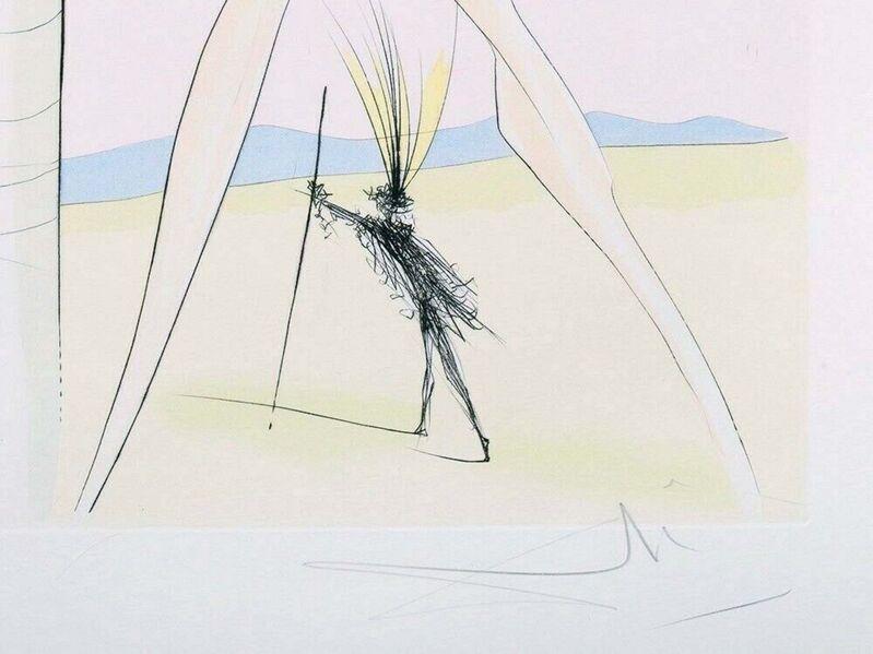 Salvador Dalí, 'Le Singe et le Léopard', 1975, Print, Engraving with pochoir on Arches paper, Art Commerce