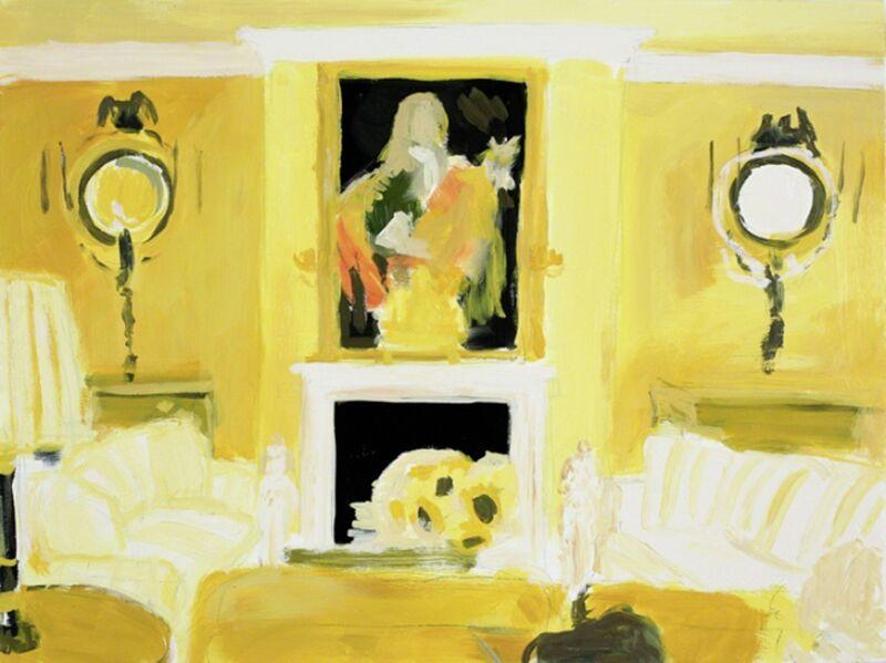 Karen Kilimnik, 'Elton John's London Living Room', 2010, Painting, Water soluble oil color on canvas, Sprüth Magers