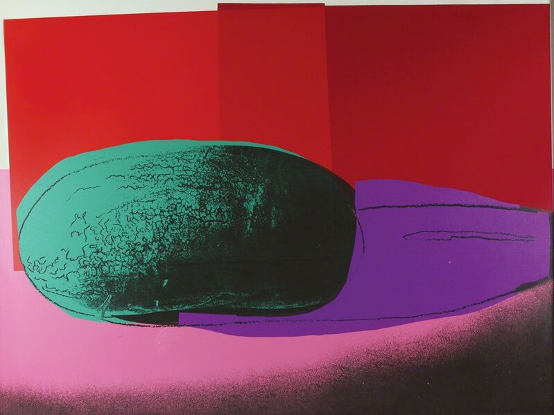 Andy Warhol, 'Space Fruit: Still Lifes Watermelon', 1979, Print, Colored serigraph on paper, Bertolami Fine Arts