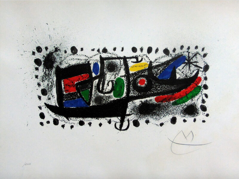 Joan Miró, 'Joan Miro and Catalonia', 1970, Print, Lithograph in colors, on Arches wove paper, Upsilon Gallery