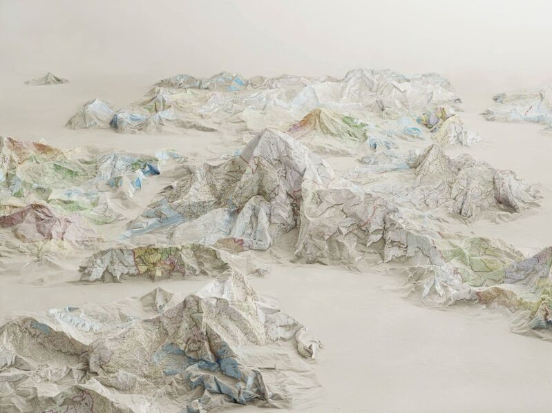 Ji Zhou, 'The Map No. 2', 2014, Photography, Archival pigment print, Galería RGR