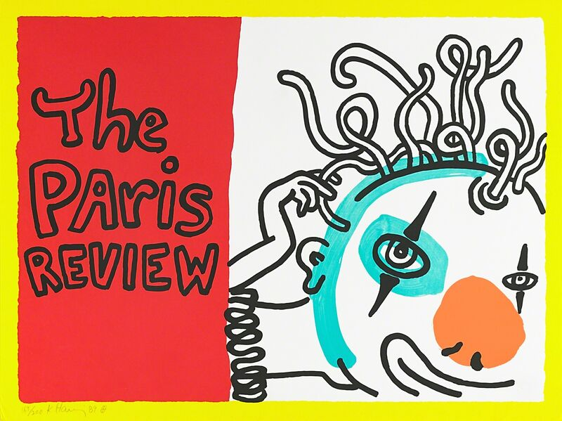 Keith Haring, 'The Paris Review', 1989, Print, Screenprint in colors on wove paper, Rago/Wright
