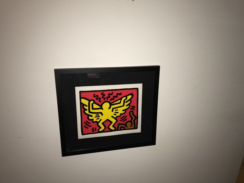 Keith Haring, 'Pop Shop IV', 1989, Print, Screenprint in color on wove paper, Galerie Lareuse