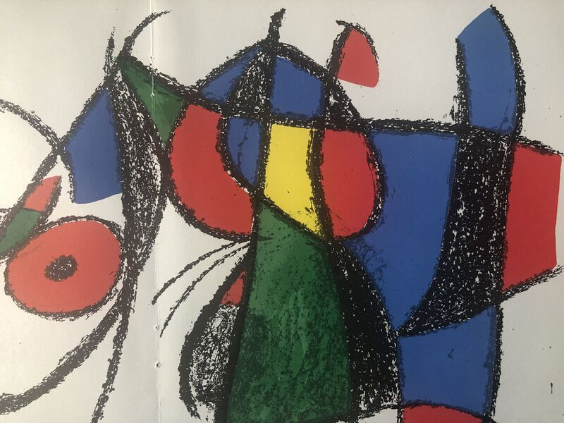 Joan Miró, 'Original Lithograph VIII', 1975, Print, Original Lithograph, Inviere Gallery
